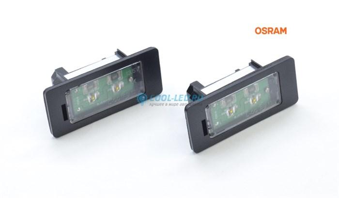Светодиодная подсветка номера BMW (БМВ) E39 Osram - фото 4604