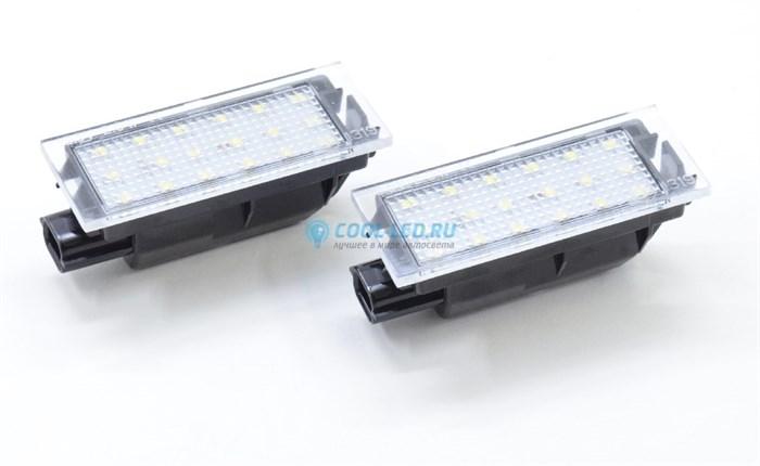 Светодиодные плафоны подсветки номера Renault (Рено) - фото 4620