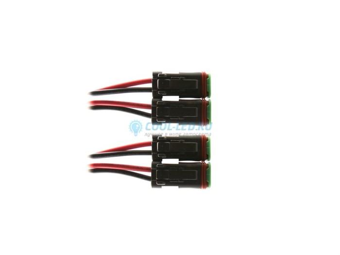 Комплект проводов для подключения на 4 фары+реле - фото 4952