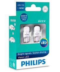Светодиодные лампы Philips T10 6000K - фото 5877