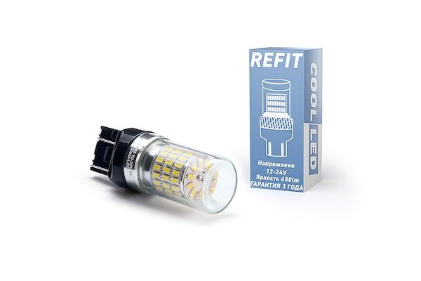 Светодиодная лампа 7443-W21/5W REFIT белая - фото 6494
