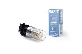 Светодиодная лампа 3156-P27W REFIT красная